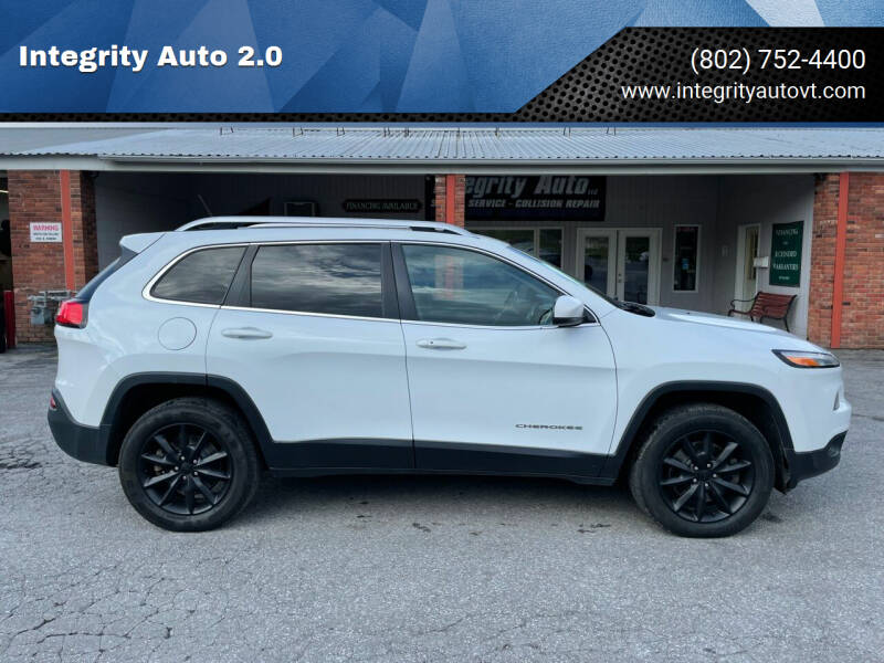 2014 Jeep Cherokee for sale at Integrity Auto 2.0 in Saint Albans VT