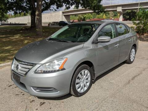 2014 Nissan Sentra for sale at EXECUTIVE AUTOSPORT in Portland OR