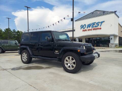 2012 Jeep Wrangler Unlimited for sale at 90 West Auto & Marine Inc in Mobile AL