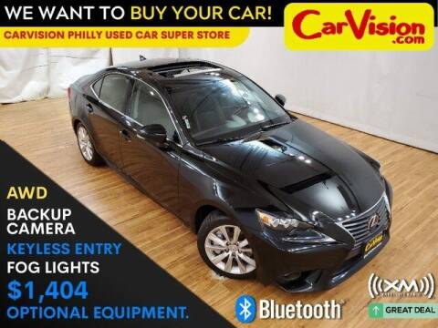 2016 Lexus IS 300 for sale at Car Vision Mitsubishi Norristown - Car Vision Philly Used Car SuperStore in Philadelphia PA