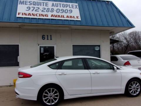 2017 Ford Fusion for sale at MESQUITE AUTOPLEX in Mesquite TX