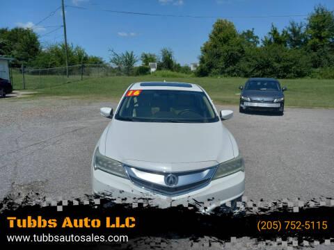 2016 Acura ILX for sale at Tubbs Auto LLC in Tuscaloosa AL