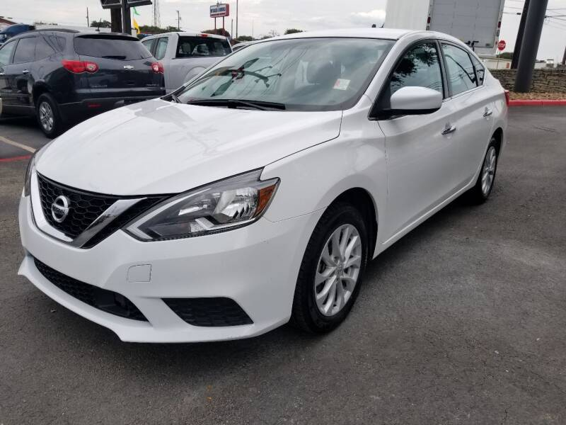 2019 Nissan Sentra for sale at ON THE MOVE INC in Boerne TX