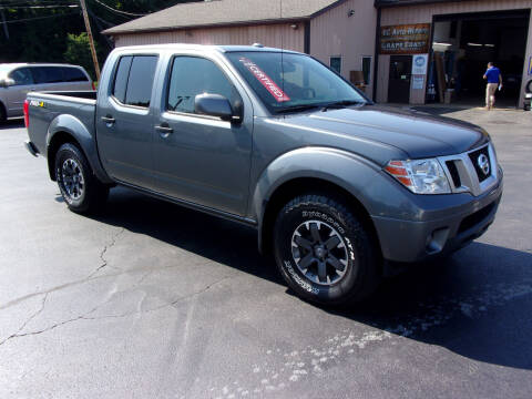 2018 Nissan Frontier for sale at Dave Thornton North East Motors in North East PA
