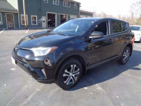 2018 Toyota RAV4 for sale at SCHURMAN MOTOR COMPANY in Lancaster NH