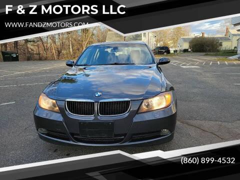 2006 BMW 3 Series for sale at F & Z MOTORS LLC in Waterbury CT
