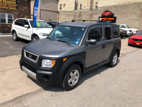 2005 Honda Element for sale at STEEL TOWN PRE OWNED AUTO SALES in Weirton WV