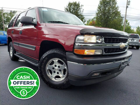 2005 Chevrolet Tahoe for sale at Woolley Auto Group LLC in Poland OH