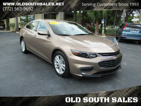 2018 Chevrolet Malibu for sale at OLD SOUTH SALES in Vero Beach FL