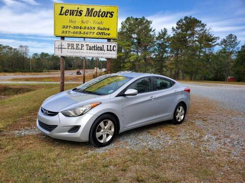 2011 Hyundai Elantra for sale at Lewis Motors LLC in Deridder LA