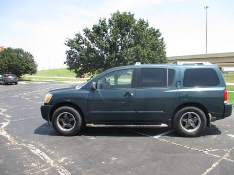 2004 Nissan Armada for sale at BUZZZ MOTORS in Moore OK