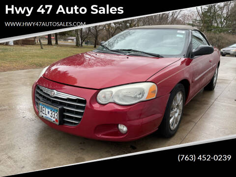 2004 Chrysler Sebring for sale at Hwy 47 Auto Sales in Saint Francis MN