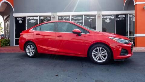 2019 Chevrolet Cruze for sale at Car Depot in Miramar FL