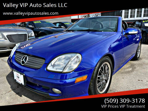 2003 Mercedes-Benz SLK for sale at Valley VIP Auto Sales LLC in Spokane Valley WA