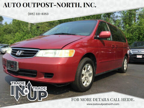 2003 Honda Odyssey for sale at Auto Outpost-North, Inc. in McHenry IL