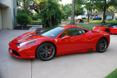 2015 Ferrari 458 Speciale for sale at Professional Automobile Exchange in Bensalem PA
