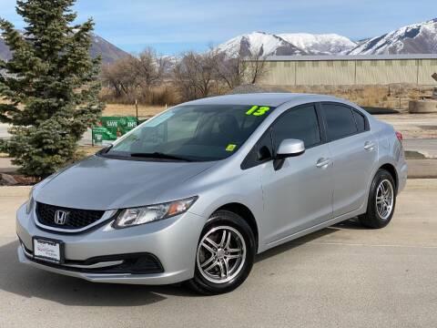2013 Honda Civic for sale at Evolution Auto Sales LLC in Springville UT