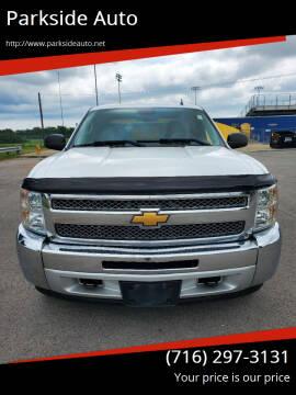 2013 Chevrolet Silverado 1500 for sale at Parkside Auto in Niagara Falls NY