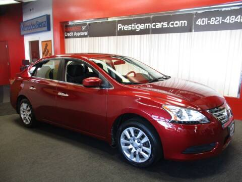 2015 Nissan Sentra for sale at Prestige Motorcars in Warwick RI