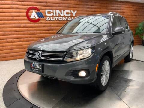 2013 Volkswagen Tiguan for sale at Dixie Motors in Fairfield OH