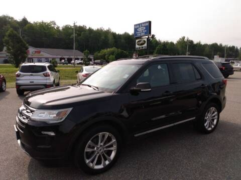 2018 Ford Explorer for sale at Ripley & Fletcher Pre-Owned Sales & Service in Farmington ME