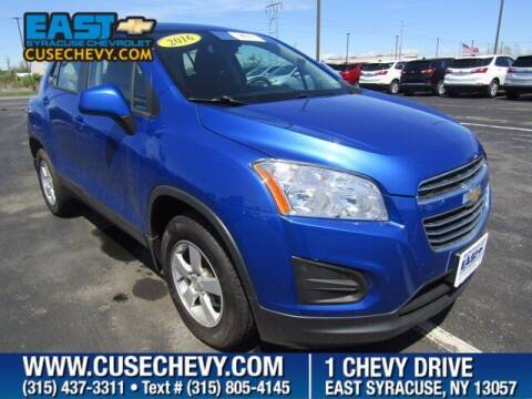 2016 Chevrolet Trax for sale at East Syracuse Performance Sales & Service in Syracuse NY