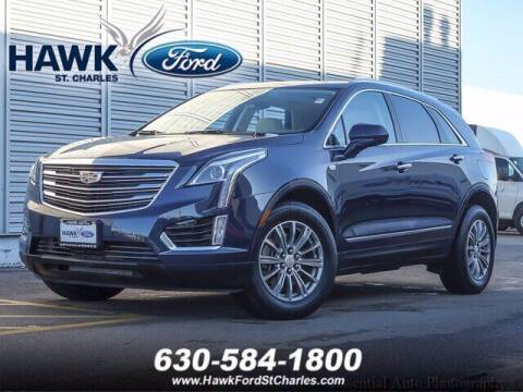 2018 Cadillac XT5 for sale at Hawk Ford of St. Charles in Saint Charles IL