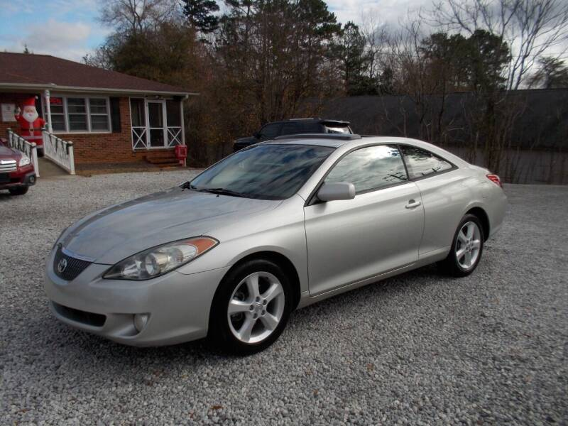 2004 Toyota Camry Solara for sale at Carolina Auto Connection & Motorsports in Spartanburg SC