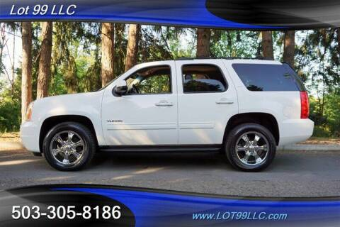 2014 GMC Yukon for sale at LOT 99 LLC in Milwaukie OR