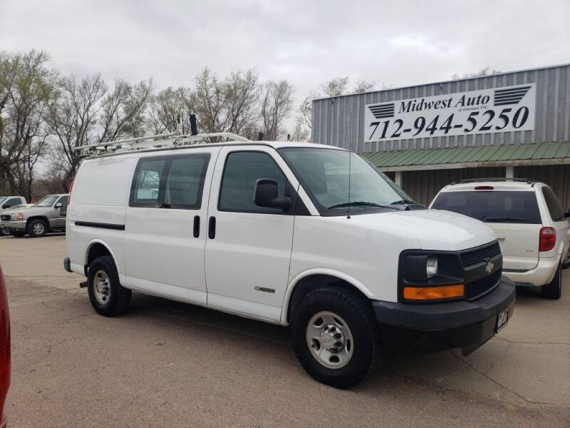 2005 Chevrolet Express Cargo for sale at Midwest Auto of Siouxland, INC in Lawton IA