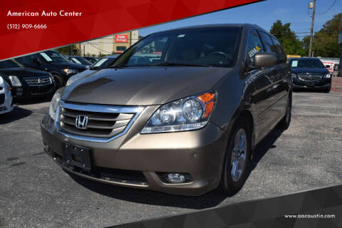 2010 Honda Odyssey for sale at American Auto Center in Austin TX