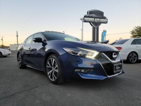 2017 Nissan Maxima for sale at Premier Auto Group in Union Gap WA