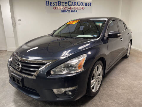 2013 Nissan Altima for sale at Best Buy Car Co in Independence MO