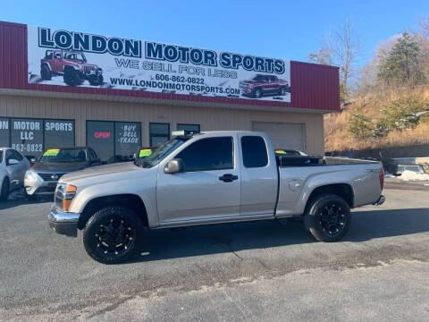 2008 GMC Canyon for sale at London Motor Sports, LLC in London KY