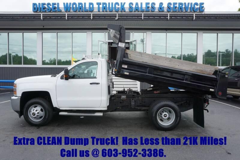 2016 Chevrolet Silverado 3500HD CC for sale at Diesel World Truck Sales - Dump Truck in Plaistow NH