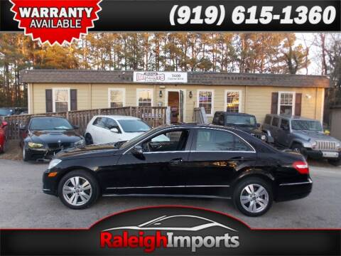2011 Mercedes-Benz E-Class for sale at Raleigh Imports in Raleigh NC