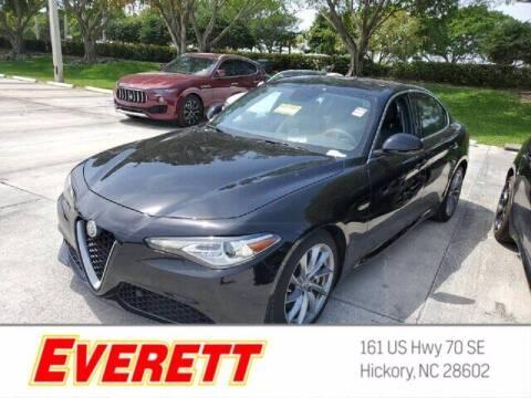 2019 Alfa Romeo Giulia for sale at Everett Chevrolet Buick GMC in Hickory NC