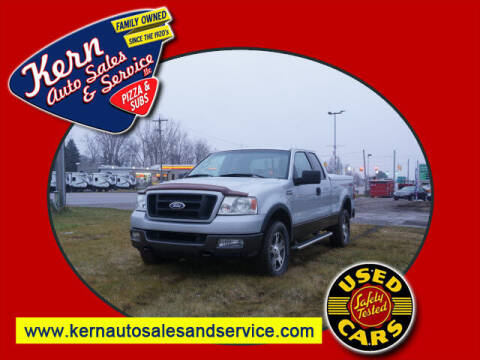 2004 Ford F-150 for sale at Kern Auto Sales & Service LLC in Chelsea MI