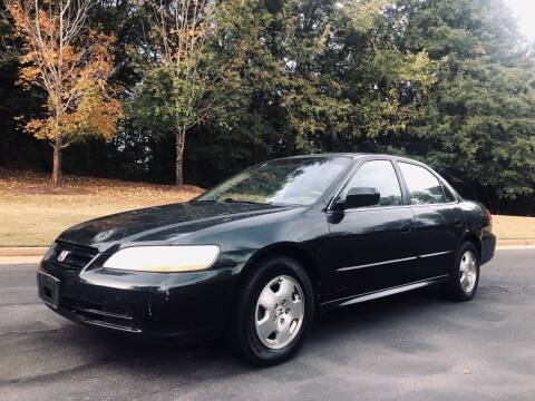 2001 Honda Accord for sale at Top Notch Luxury Motors in Decatur GA