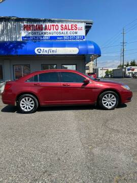 2013 Chrysler 200 for sale at PORTLAND AUTO SALES LLC. in Portland OR