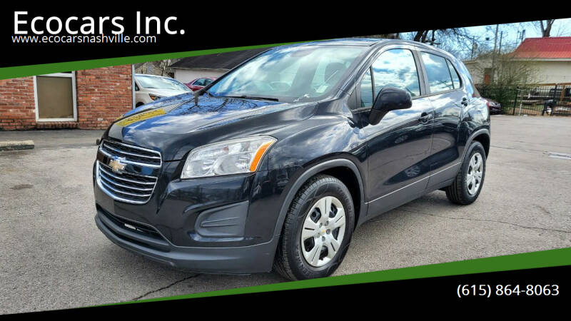 2015 Chevrolet Trax for sale at Ecocars Inc. in Nashville TN