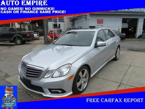 2011 Mercedes-Benz E-Class for sale at Auto Empire in Brooklyn NY