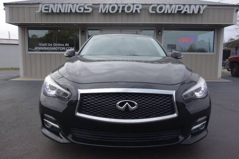 2014 Infiniti Q50 for sale at Jennings Motor Company in West Columbia SC