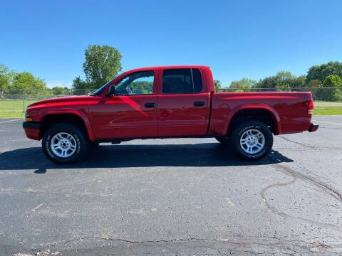 2002 Dodge Dakota for sale at Caruzin Motors in Flint MI