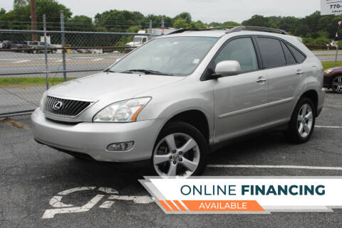 2008 Lexus RX 350 for sale at Lakepoint Autos in Cartersville GA