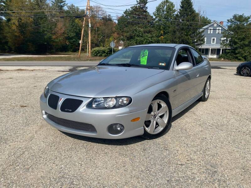 2004 Pontiac GTO for sale at Hornes Auto Sales LLC in Epping NH