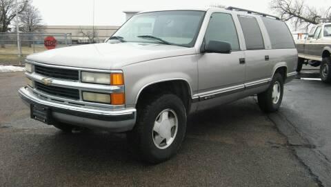 1999 Chevrolet Suburban for sale at Motor City Idaho in Pocatello ID