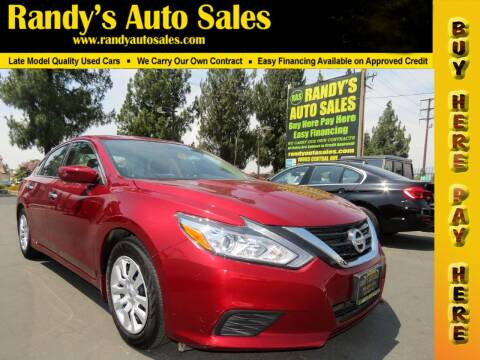 2018 Nissan Altima for sale at Randy's Auto Sales in Ontario CA