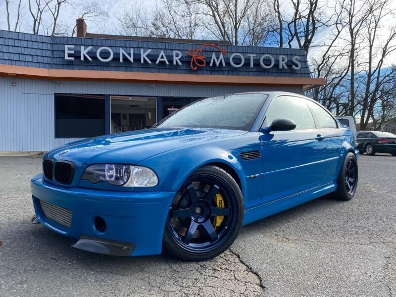 2001 BMW M3 for sale at Ekonkar Motors in Scotch Plains NJ
