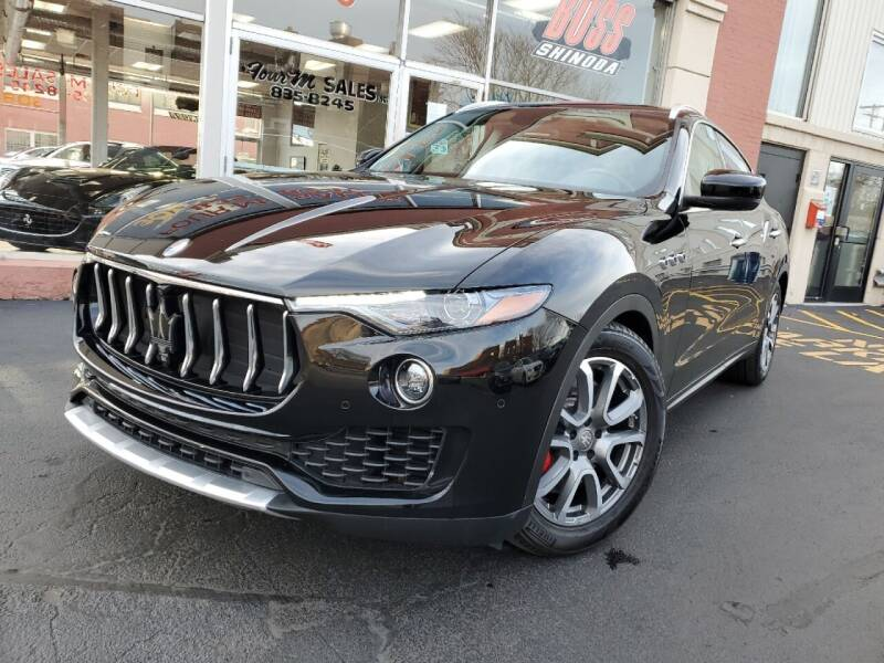2017 Maserati Levante for sale at FOUR M SALES in Buffalo NY